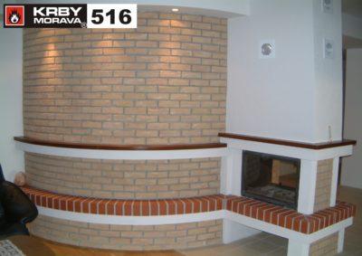 stavba krbu 516