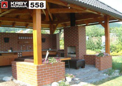 zahradní krb 558