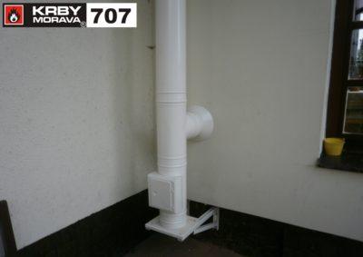 nerezový komín 707 B