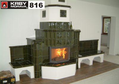 stavba krbu 816 B